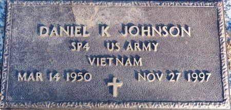 JOHNSON, DANIEL K - Woodbury County, Iowa   DANIEL K JOHNSON