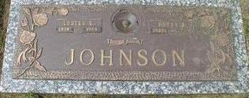 JOHNSON, LESTER E - Woodbury County, Iowa | LESTER E JOHNSON