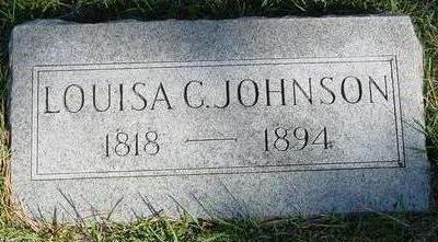 JOHNSON, LOUISA C. - Woodbury County, Iowa   LOUISA C. JOHNSON