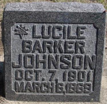 JOHNSON, LUCILE - Woodbury County, Iowa | LUCILE JOHNSON