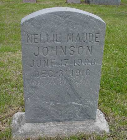 JOHNSON, NELLIE MAUDE - Woodbury County, Iowa   NELLIE MAUDE JOHNSON