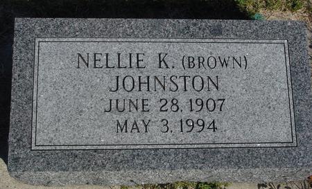 JOHNSTON, NELLIE K. - Woodbury County, Iowa | NELLIE K. JOHNSTON