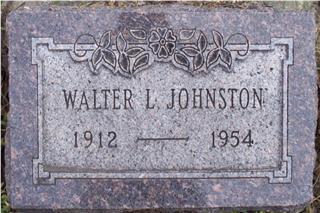 JOHNSTON, WALTER - Woodbury County, Iowa | WALTER JOHNSTON
