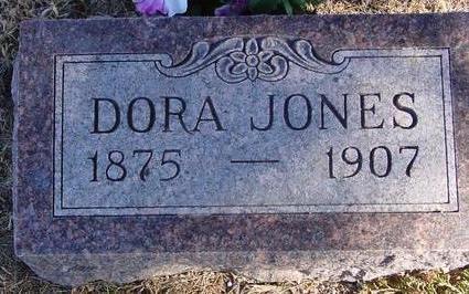 JONES, DORA - Woodbury County, Iowa | DORA JONES