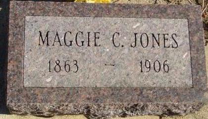 JONES, MAGGIE C. - Woodbury County, Iowa   MAGGIE C. JONES