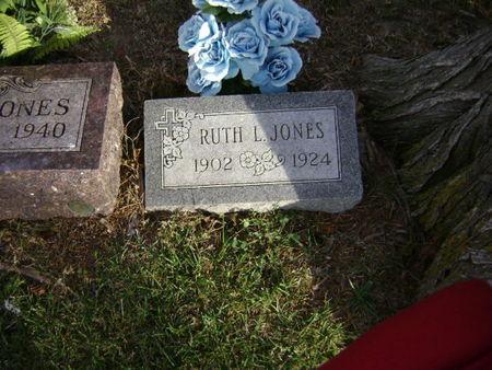JONES, RUTH - Woodbury County, Iowa   RUTH JONES