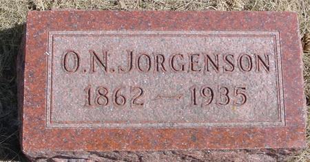 JORGENSON, O. N. - Woodbury County, Iowa | O. N. JORGENSON