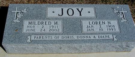 JOY, LOREN & MILDRED - Woodbury County, Iowa | LOREN & MILDRED JOY