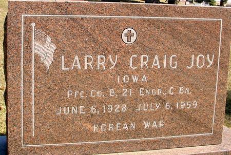 JOY, LARRY CRAIG - Woodbury County, Iowa | LARRY CRAIG JOY