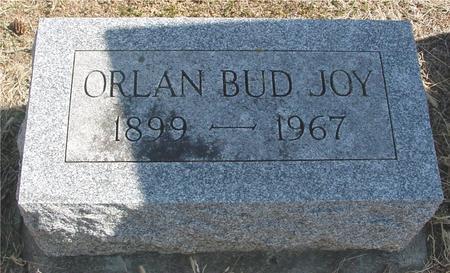 JOY, ORLAN BUD - Woodbury County, Iowa | ORLAN BUD JOY