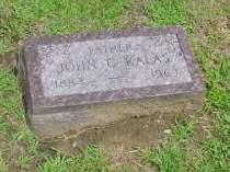 KALAS, JOHN - Woodbury County, Iowa | JOHN KALAS