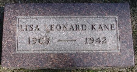 KANE, LISA - Woodbury County, Iowa | LISA KANE