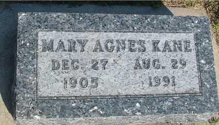 KANE, MARY AGNES - Woodbury County, Iowa | MARY AGNES KANE