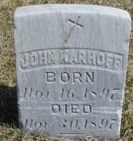 KARHOFF, JOHN - Woodbury County, Iowa | JOHN KARHOFF