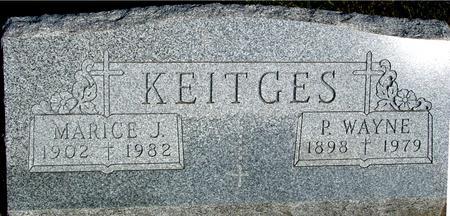 KEITGES, P. WAYNE & MARICE - Woodbury County, Iowa | P. WAYNE & MARICE KEITGES