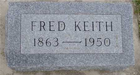 KEITH, FRED - Woodbury County, Iowa | FRED KEITH