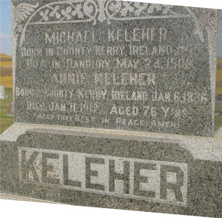 KELEHER, MICHAEL - Woodbury County, Iowa   MICHAEL KELEHER