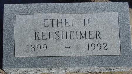 KELSHEIMER, ETHEL H. - Woodbury County, Iowa   ETHEL H. KELSHEIMER