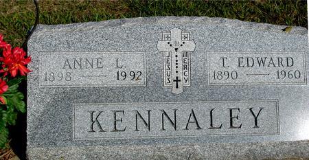 KENNALEY, T. EDWARD & ANNIE - Woodbury County, Iowa   T. EDWARD & ANNIE KENNALEY