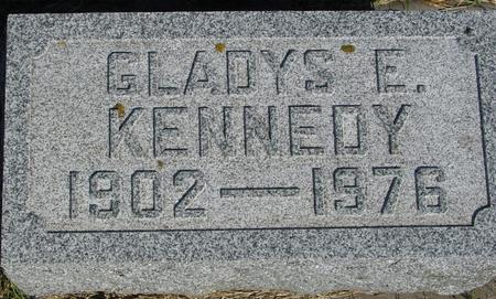 KENNEDY, GLADYS E. - Woodbury County, Iowa   GLADYS E. KENNEDY