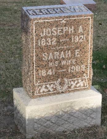 KERCHEVAL, JOSEPH A. - Woodbury County, Iowa | JOSEPH A. KERCHEVAL