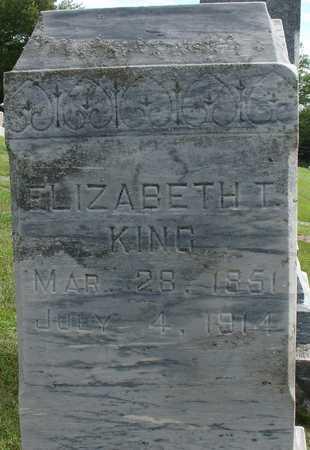KING, ELIZABETH T. - Woodbury County, Iowa | ELIZABETH T. KING