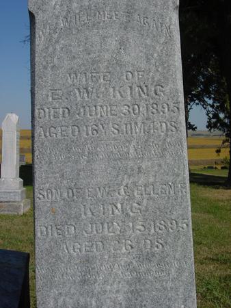 KING, ELLEN - Woodbury County, Iowa | ELLEN KING