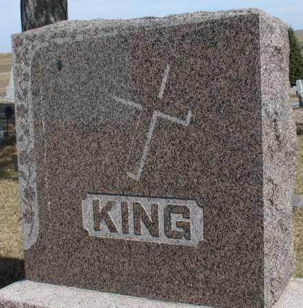 KING, FAMILY MARKER - Woodbury County, Iowa | FAMILY MARKER KING