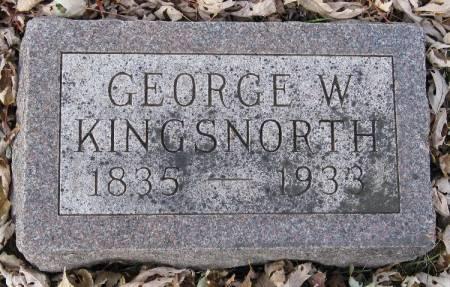 KINGSNORTH, GEORGE WESTON - Woodbury County, Iowa   GEORGE WESTON KINGSNORTH