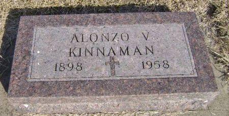 KINNAMON, ALONZO V - Woodbury County, Iowa   ALONZO V KINNAMON