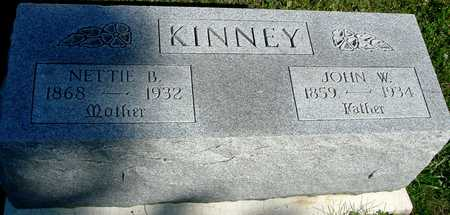 KINNEY, JOHN W. & NETTIE - Woodbury County, Iowa | JOHN W. & NETTIE KINNEY