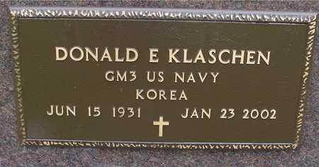 KLASCHEN, DONALD E. - Woodbury County, Iowa   DONALD E. KLASCHEN