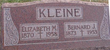 KLEINE, BERNARD & ELIZABETH - Woodbury County, Iowa | BERNARD & ELIZABETH KLEINE