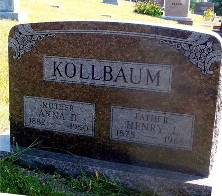 KOLLBAUM, HENRY  J.  & ANNA - Woodbury County, Iowa | HENRY  J.  & ANNA KOLLBAUM