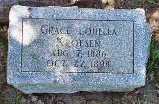 KORESEN, GRACE LOUELLEA - Woodbury County, Iowa | GRACE LOUELLEA KORESEN