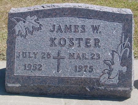 KOSTER, JAMES W. - Woodbury County, Iowa   JAMES W. KOSTER
