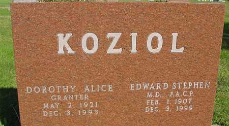 KOZIOL, EDWARD & DOROTHY - Woodbury County, Iowa | EDWARD & DOROTHY KOZIOL
