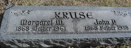 KRUSE, JOHN P. & MARGARET - Woodbury County, Iowa | JOHN P. & MARGARET KRUSE