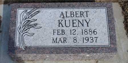 KUENY, ALBERT - Woodbury County, Iowa   ALBERT KUENY