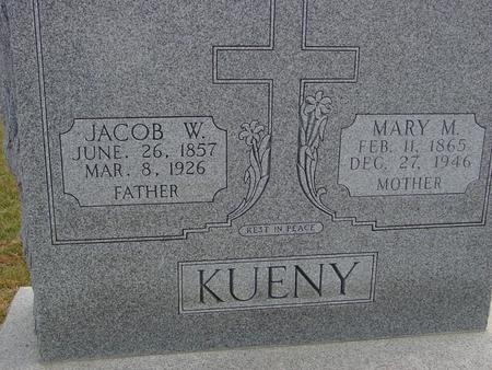 KUENY, JACOB & MARY - Woodbury County, Iowa | JACOB & MARY KUENY