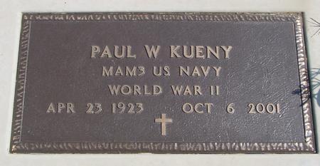KUENY, PAUL W. - Woodbury County, Iowa | PAUL W. KUENY