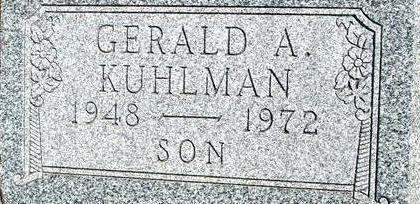 KUHLMAN, GERALD A. - Woodbury County, Iowa | GERALD A. KUHLMAN