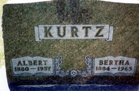 KURTZ, ALBERT - Woodbury County, Iowa   ALBERT KURTZ