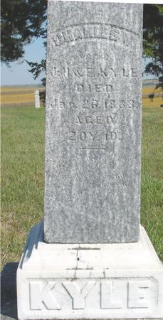 KYLE, CHARLES W. - Woodbury County, Iowa   CHARLES W. KYLE
