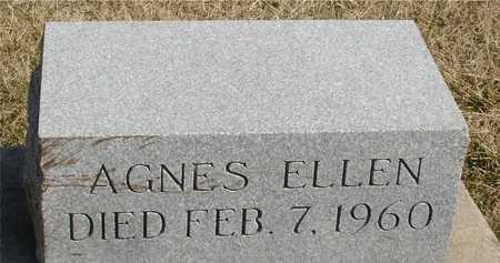 LACEY, AGNES ELLEN - Woodbury County, Iowa | AGNES ELLEN LACEY