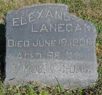 LANEGAN, ELEXANDER - Woodbury County, Iowa | ELEXANDER LANEGAN