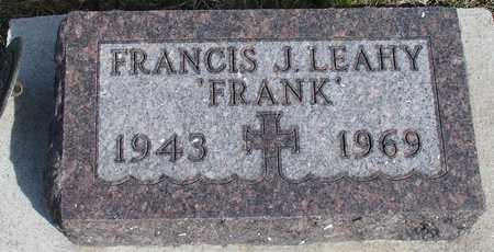 LEAHY, FRANCIS J. - Woodbury County, Iowa | FRANCIS J. LEAHY