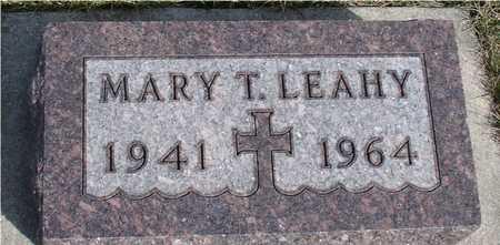 LEAHY, MARY T. - Woodbury County, Iowa | MARY T. LEAHY