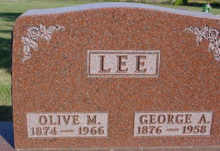 LEE, GEORGE & OLIVE - Woodbury County, Iowa | GEORGE & OLIVE LEE