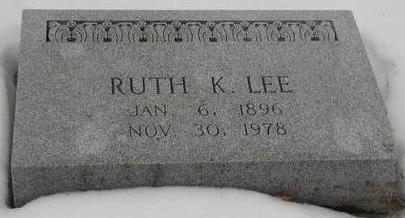 LEE, RUTH K - Woodbury County, Iowa | RUTH K LEE